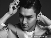 Choi Si Won для L'Officiel Hommes July 2015 Extra