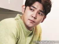 Super Junior (Kangin) для InStyle February 2015 Extra