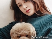 T-Ara (Ji Yeon) для Vogue Girl Korea December 2014