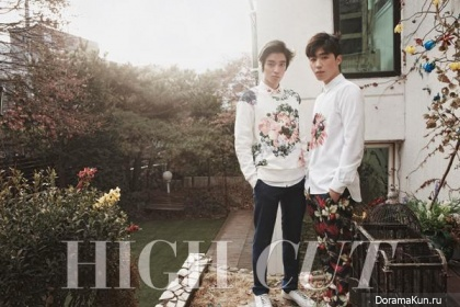 Teen Top (Niel, Changjo) для High Cut Vol.143