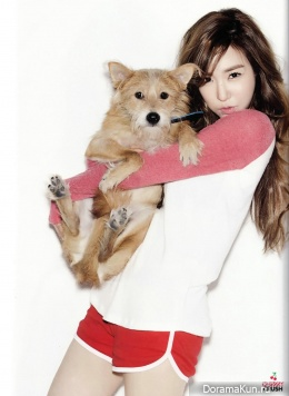 SNSD (Tiffany) для Oh Boy! Magazine Vol.54 Extra
