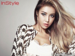 Wonder Girls (Yubin) для InStyle October 2015