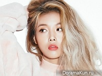 Wonder Girls (Yubin) для Marie Claire November 2015