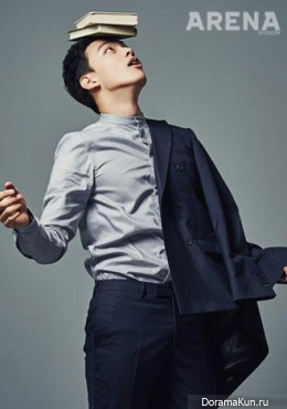Yeo Jin Goo для Arena Homme Plus February 2015 Extra