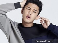 Yoo Ah In для The Class Fall 2014 CF