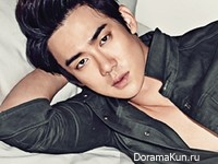 Yoo Yeon Seok для Cosmopolitan Korea September 2014
