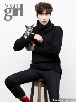 Yoon Hyun Min для Vogue Girl korea November 2014