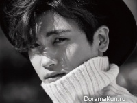 ZE:A (Hyungsik) для Elle October 2015 Extra