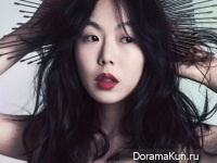 Kim Min Hee для First Look, Vol. 15 2012