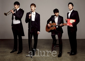 2AM для Allure Korea December 2011