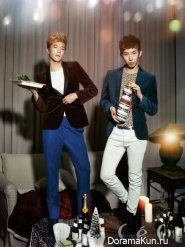 Jo Kwon, Wooyoung для CeCi December 2012