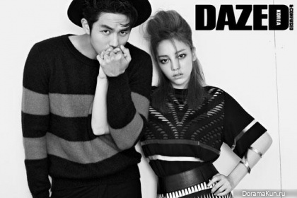 2AM (Seulong), Kara (Goo Hara) для Dazed & Confused Vol. 65