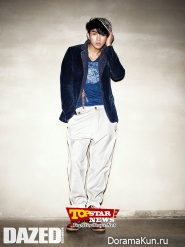 Seulong (2AM) для Dazed & Confused October 2012