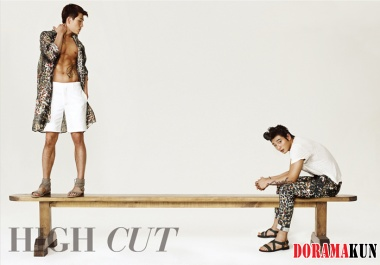 2AM's Jinwoon, Changmin для High Cut Vol. 80