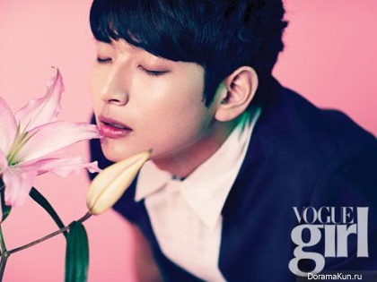 2AM (Jinwoon) для Vogue Girl Korea May 2013