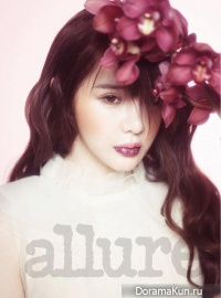 Park Bom (2NE1) для Allure March 2013 Extra