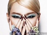 CL (2NE) для Harper's Bazaar March 2013