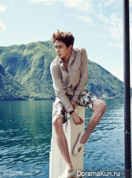 2PM (Nichkhun) для Allure Magazine June 2014 Extra