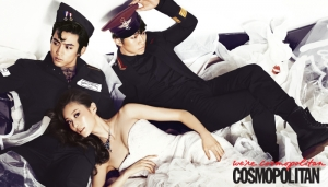 2PM's Taecyeon, Junho для Cosmopolitan Korea June 2012