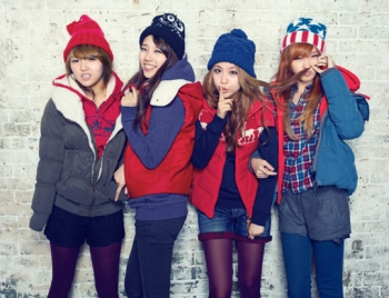 Miss A, 2PM's Nichkhun для Edwin Winter 2011 Catalogue