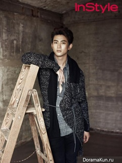 2PM (Taecyeon) для InStyle Korea September 2013