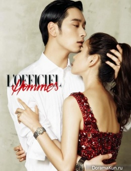 2pm (Chansung) для L'Officiel Hommes Korea August 2013