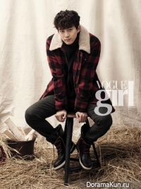 Taecyeon (2PM) для Vogue Girl Korea December 2013