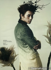 2PM's Junho для W Korea September 2012