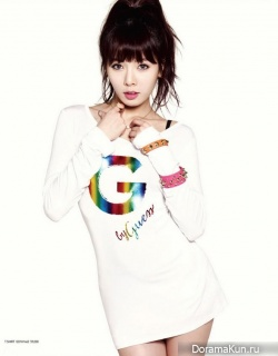 HyunA (4minute) для G by Guess SS 2013 Ad Campaign