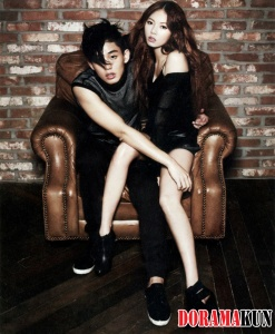Yoo Ah In, HyunA для High Cut Vol. 74 Extra
