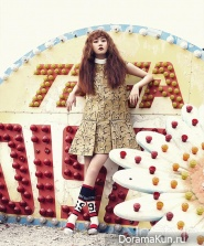 4Minute для InStyle Magazine April 2014