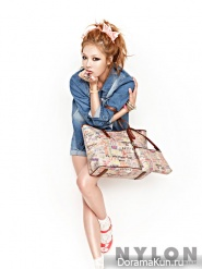 4minute's HyunA для Nylon Korea September 2012