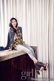 GaYoon (4minute) для Vogue Girl January 2013