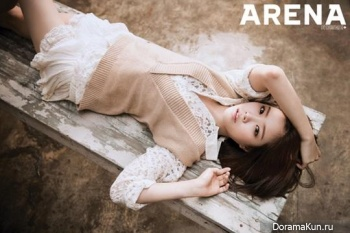 A Pink (Naeun) для Arena Homme Plus September 2013