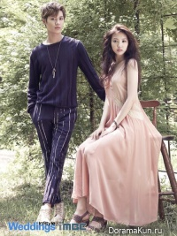 Taemin (SHINee), Naeun (A Pink) для Instyle Weddings 2013