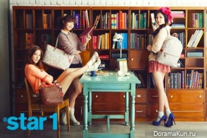 A Pink для @Star1 Korea March 2013
