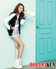 After School's UEE для CéCi July 2012 Extra
