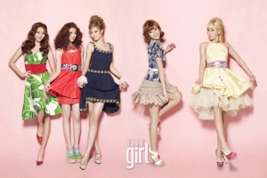 After School для Elle Girl May 2011