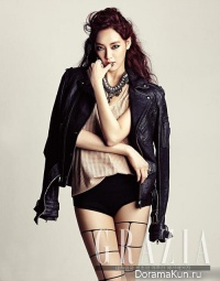 Jooyeon (After School) для Grazia Korea 2013