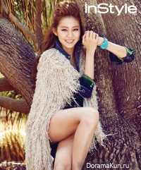 After School's UEE для InStyle September 2012