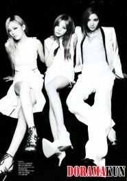 After School для L'Officiel Hommes Korea August 2012