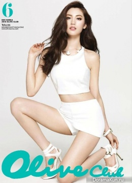 After School (Nana) для Olive Club Magazine June 2014