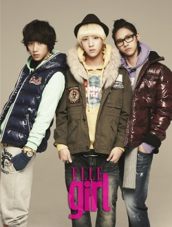 B1A4 для Elle Girl Korea November 2011