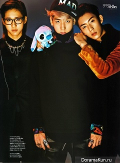 B1A4 для L'Officiel Hommes January 2013