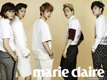 B1A4 для Marie Claire Korea May 2013