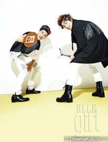 B.A.P для Elle Girl Korea September 2012