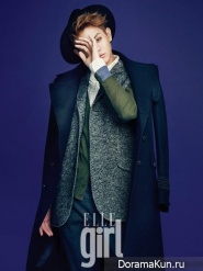 Yoseob (BEAST) для Elle Girl January 2013