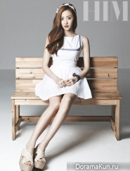 BESTie (Hae Ryeong) для HIM Magazine June 2014