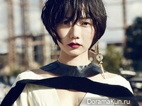 Bae Doo Na для Cosmopolitan Korea September 2014