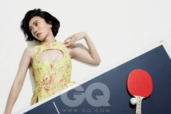 Bae Doo Na для GQ Korea June 2012